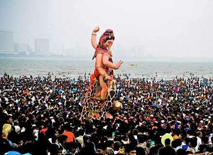 Best Happy Anant Chaturdashi Ganpati Visarjan HD Wallpapers for Free Download